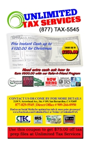 unlimited tax service 3x5 front pc copy